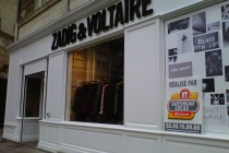 refection boiseries peinture devanture magasin nantes